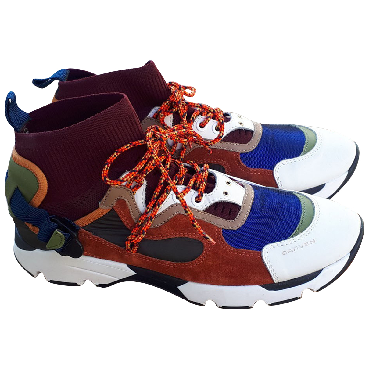 Carven \N Sneakers in  Bunt Leder