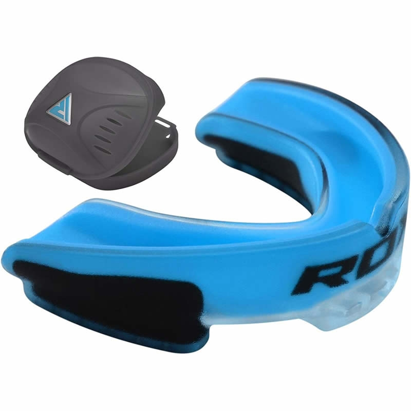 RDX 3U Gel Protege Dents Bleu Caoutchouc