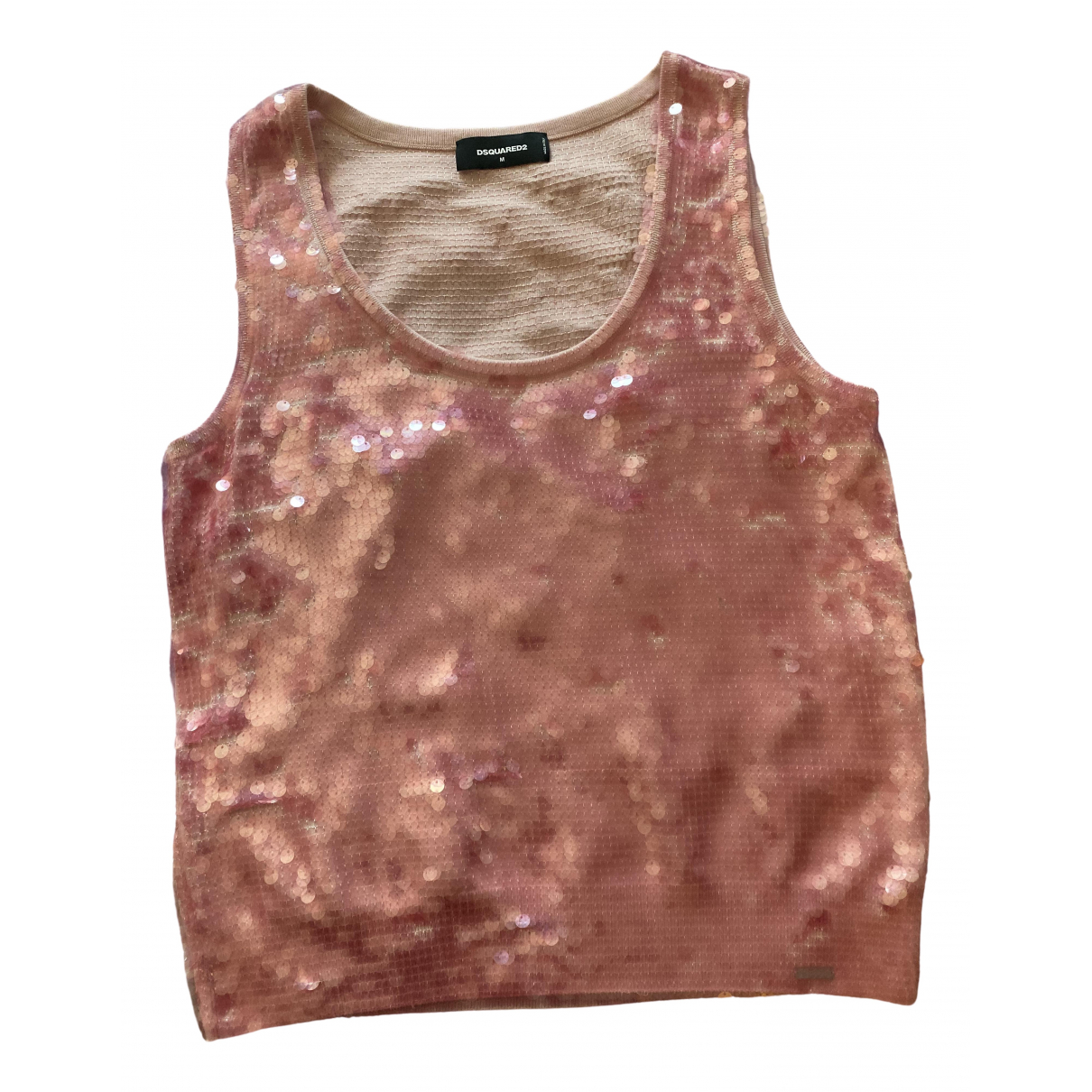 Dsquared2 \N Pink Glitter  top for Women M International