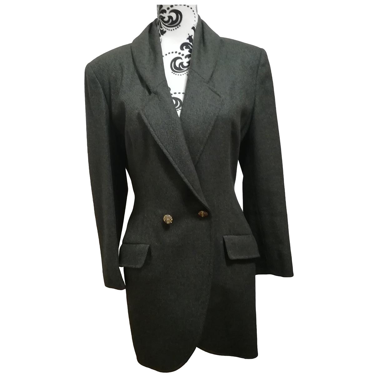Chiara Boni \N Green Wool jacket for Women 44 IT