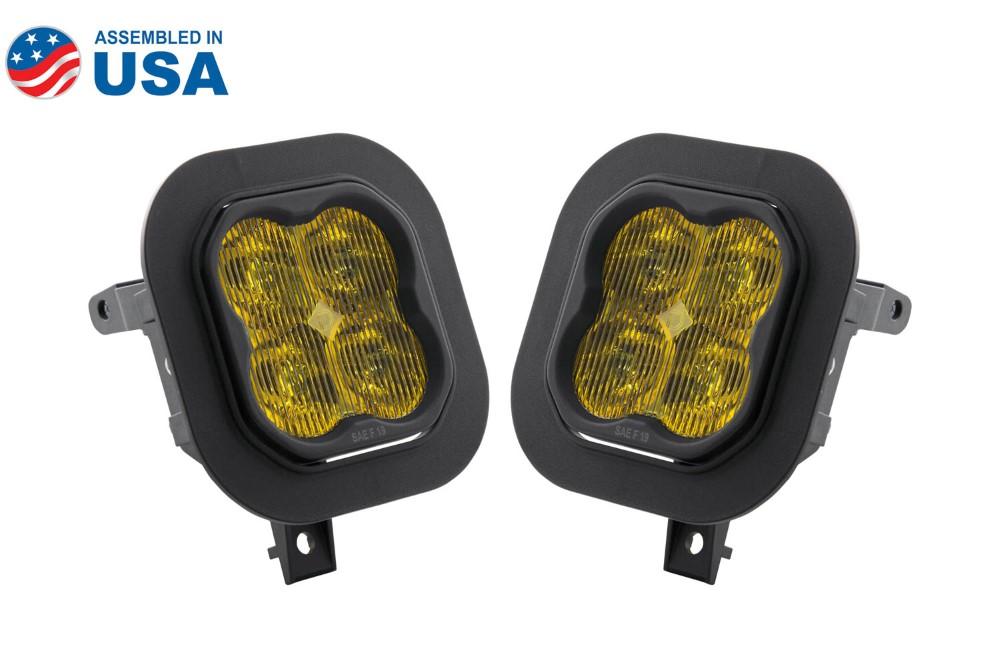 Diode Dynamics DD6538-ss3fog-1323 SS3 LED Fog Light Kit for 11-16 Ford Super Duty F-250/F-350 Yellow SAE/DOT Fog Pro