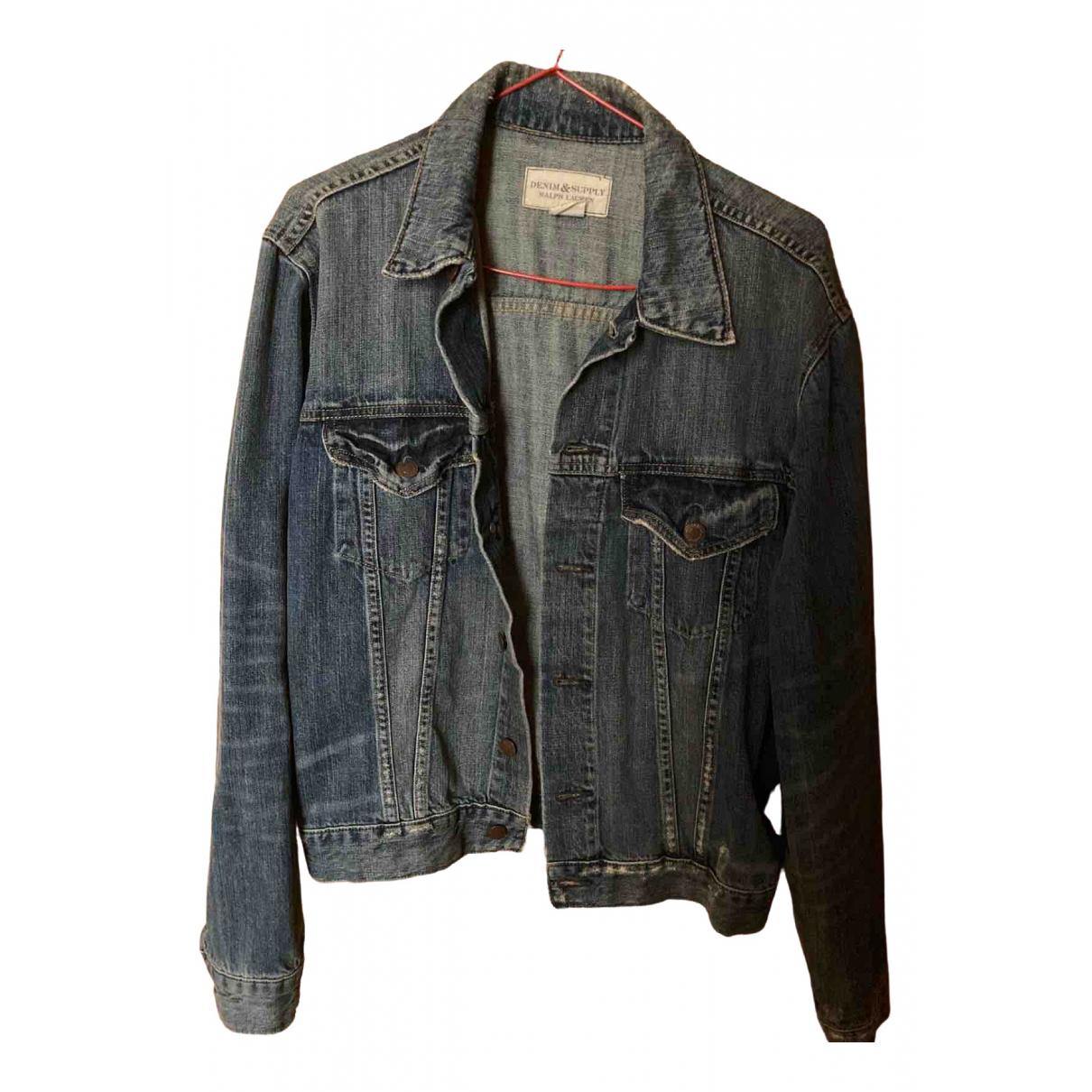 Ralph Lauren Denim & Supply \N Jacke in  Blau Denim - Jeans