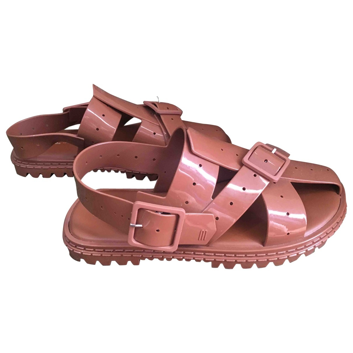 Melissa \N Brown Sandals for Women 41 EU