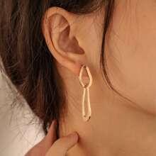 Ohrringe mit Verbindung Design
