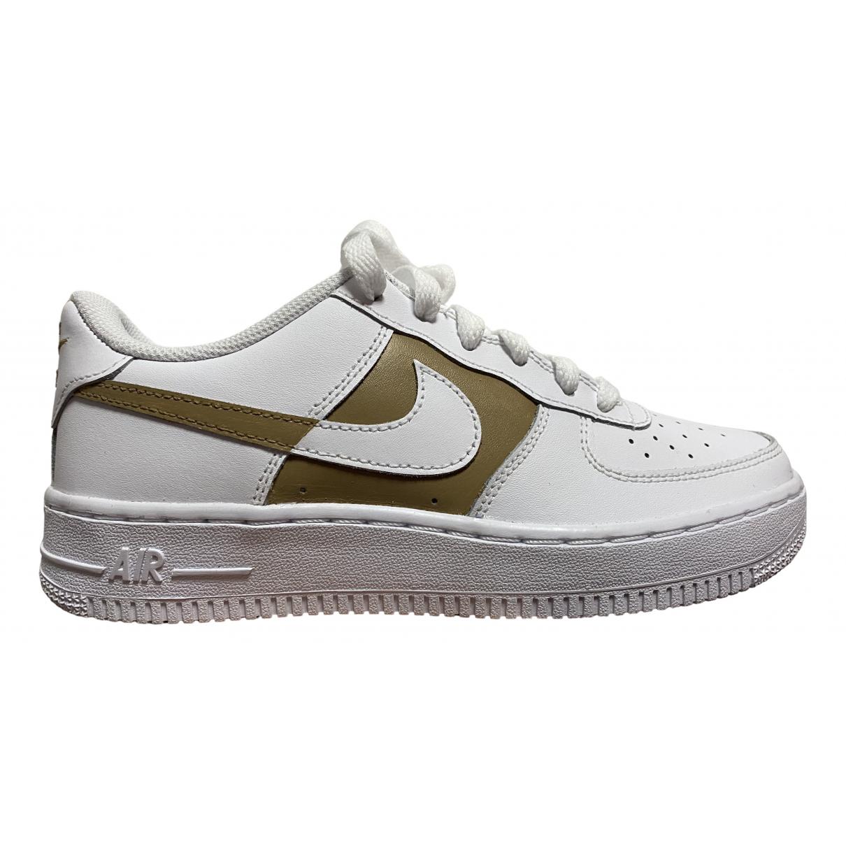 Deportivas Air Force 1 de Cuero Nike