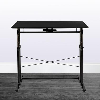 NAN-JN-21908-GG Nan-Jn-21908-Gg Height Adjustable Office Table In