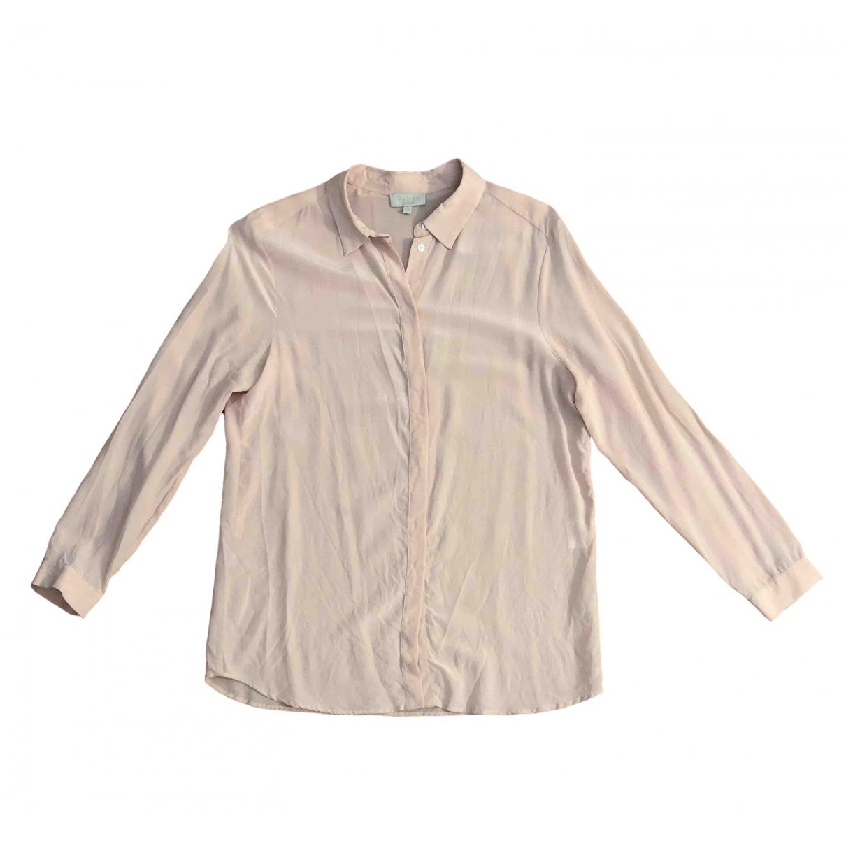 Pablo \N Pink Silk  top for Women 36 FR