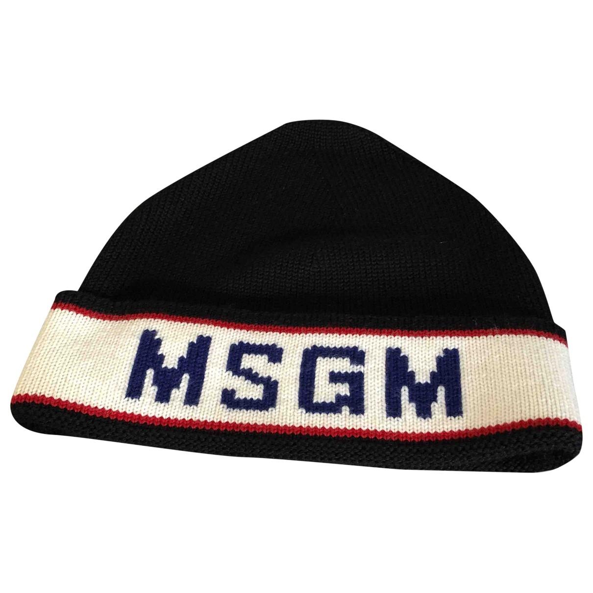Sombrero / gorro de Lana Msgm
