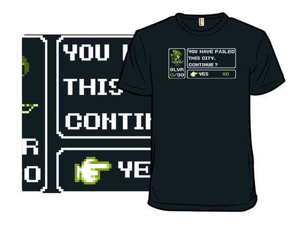 Vigilante Fantasy T Shirt