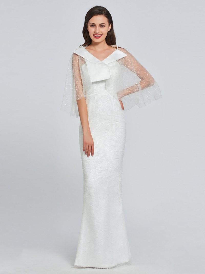 Ericdress Beading Lace Sheath Prom Dress