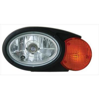 Hella Oval C120 Combination Headlamp (Clear) - 996167061