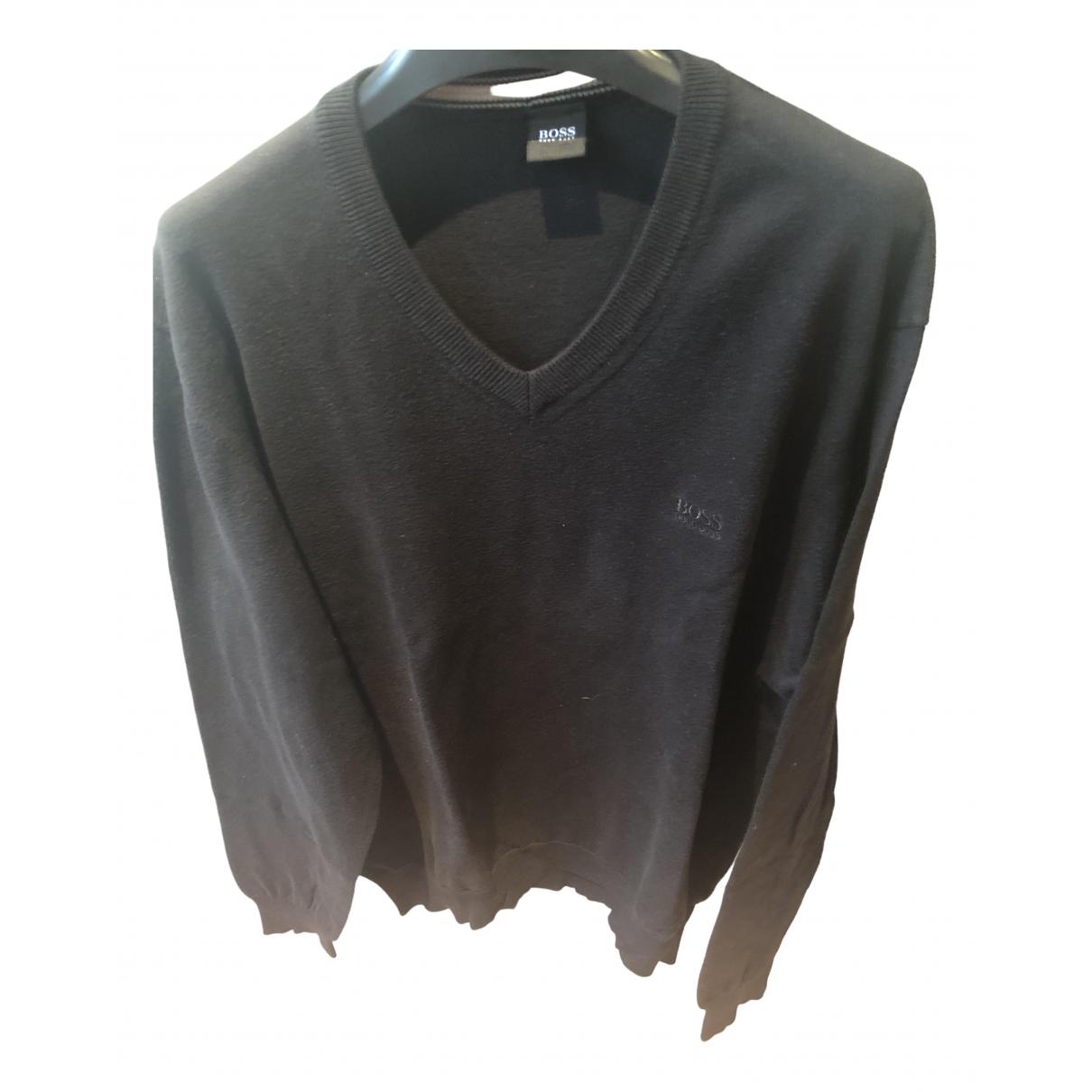Boss \N Black Cotton Knitwear & Sweatshirts for Men M International