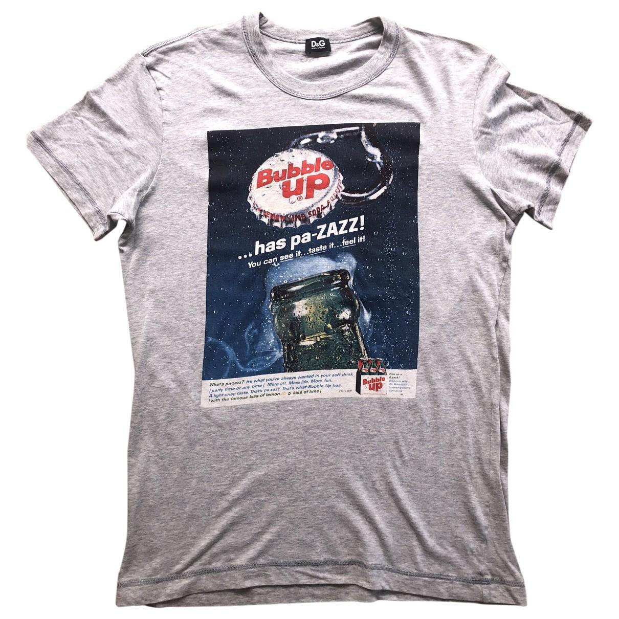 D&g \N T-Shirts in  Grau Baumwolle