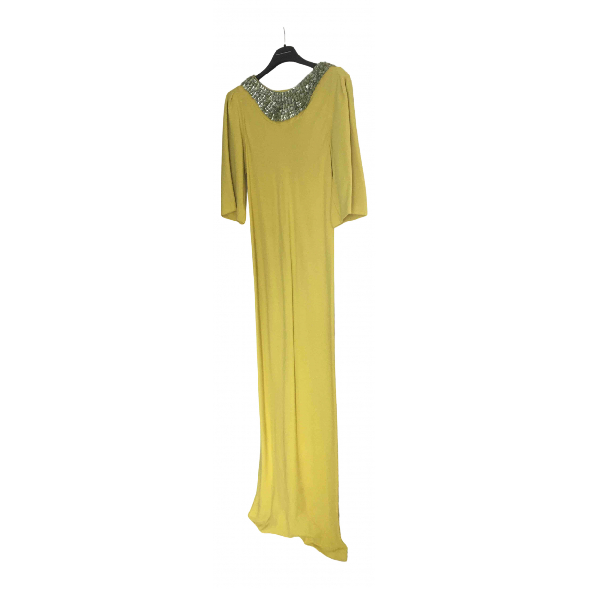 Ermanno Scervino \N Yellow dress for Women 40 FR