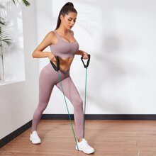 U-Back Sports Bra With Leggings
