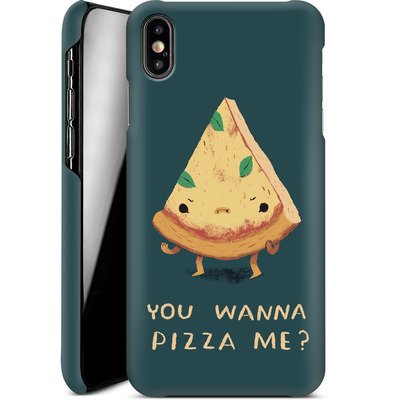 Apple iPhone XS Max Smartphone Huelle - You Wanna Pizza Me? von Louis Ros