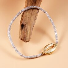 Shell Decor Beaded Bracelet