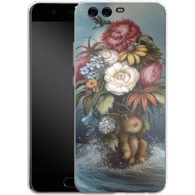 Huawei P10 Silikon Handyhuelle - Hopeless Romantic von Dan May
