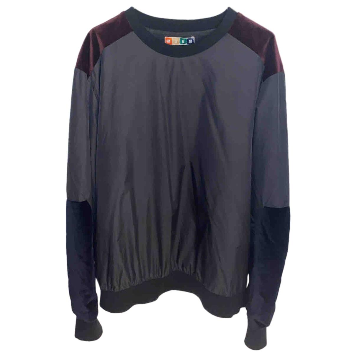 Msgm \N Pullover.Westen.Sweatshirts  Schwarz