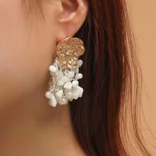 Ohrringe mit Kristall Quasten