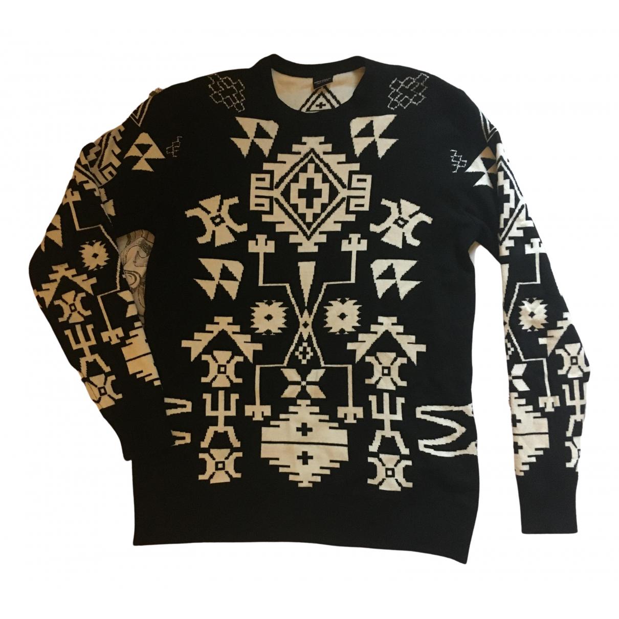 Marcelo Burlon \N Black Cotton Knitwear & Sweatshirts for Men L International