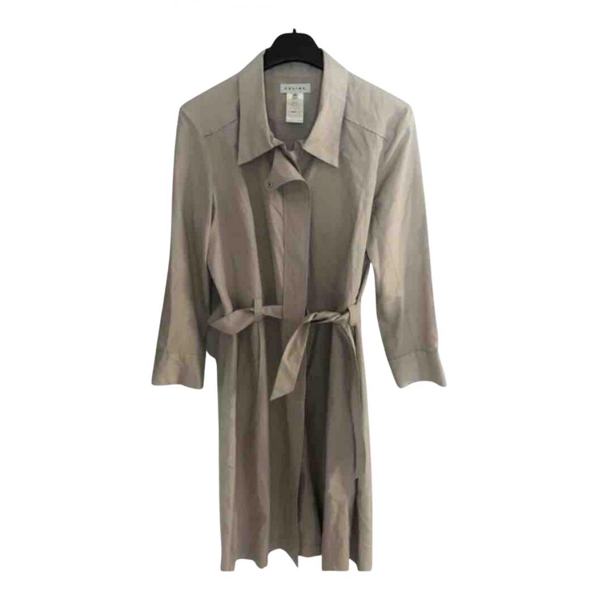 Celine - Robe   pour femme en soie - beige