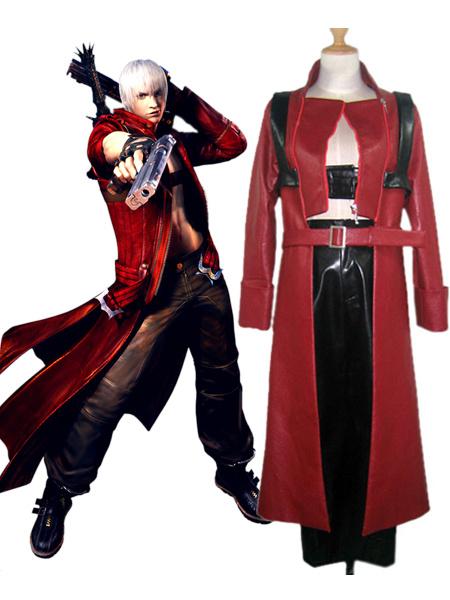 Milanoo Devil May Cry Dante Halloween cosplay costume  Halloween