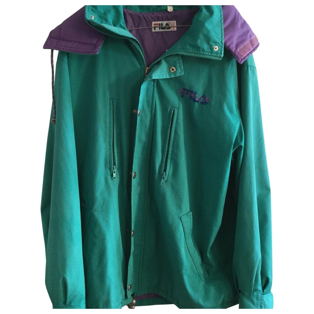 Fila \N Turquoise jacket  for Men 50 IT