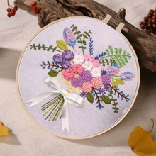 Floral Pattern Cross Stitch