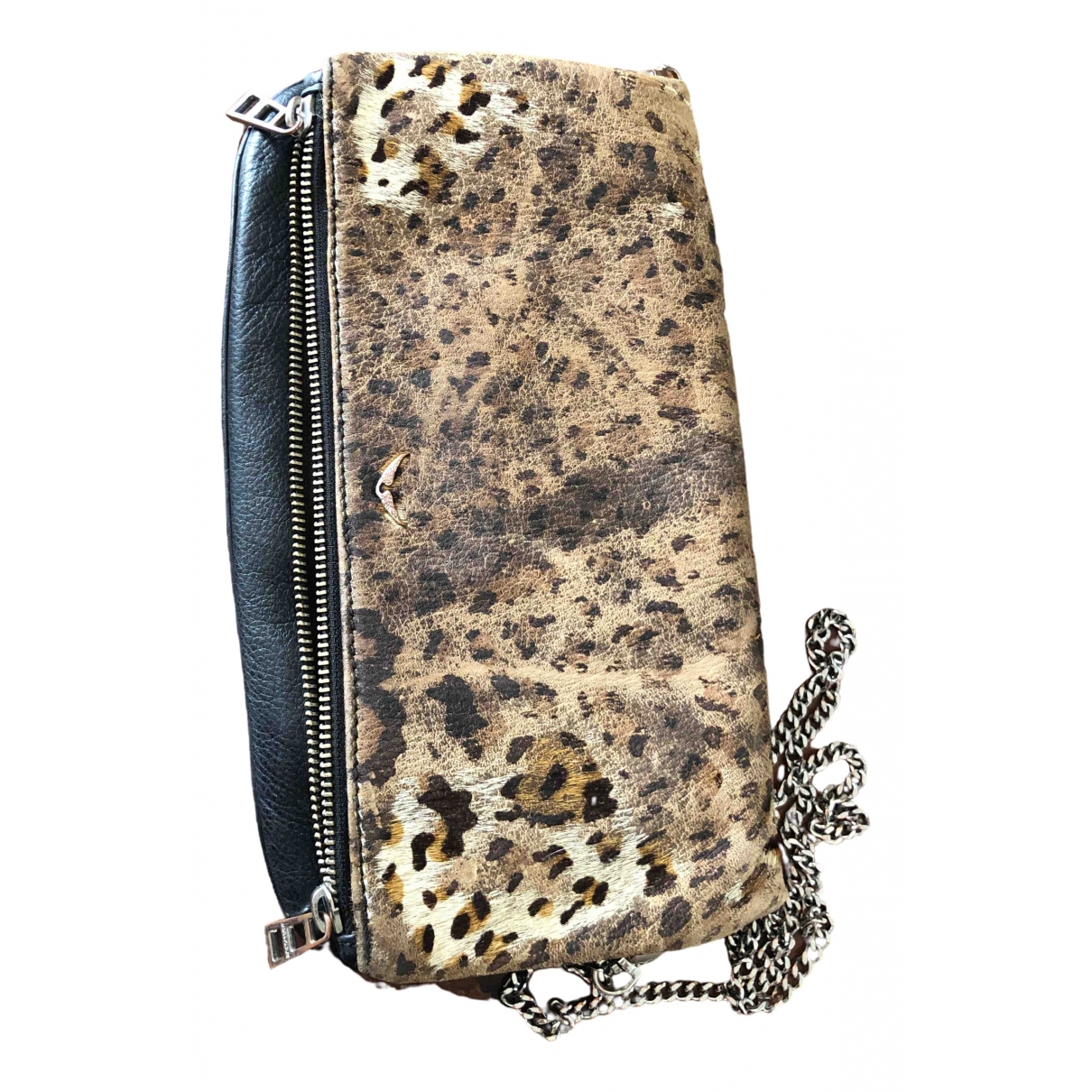 Zadig & Voltaire Rock Leather Clutch bag for Women \N
