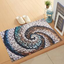Cobblestone Print Floor Mat