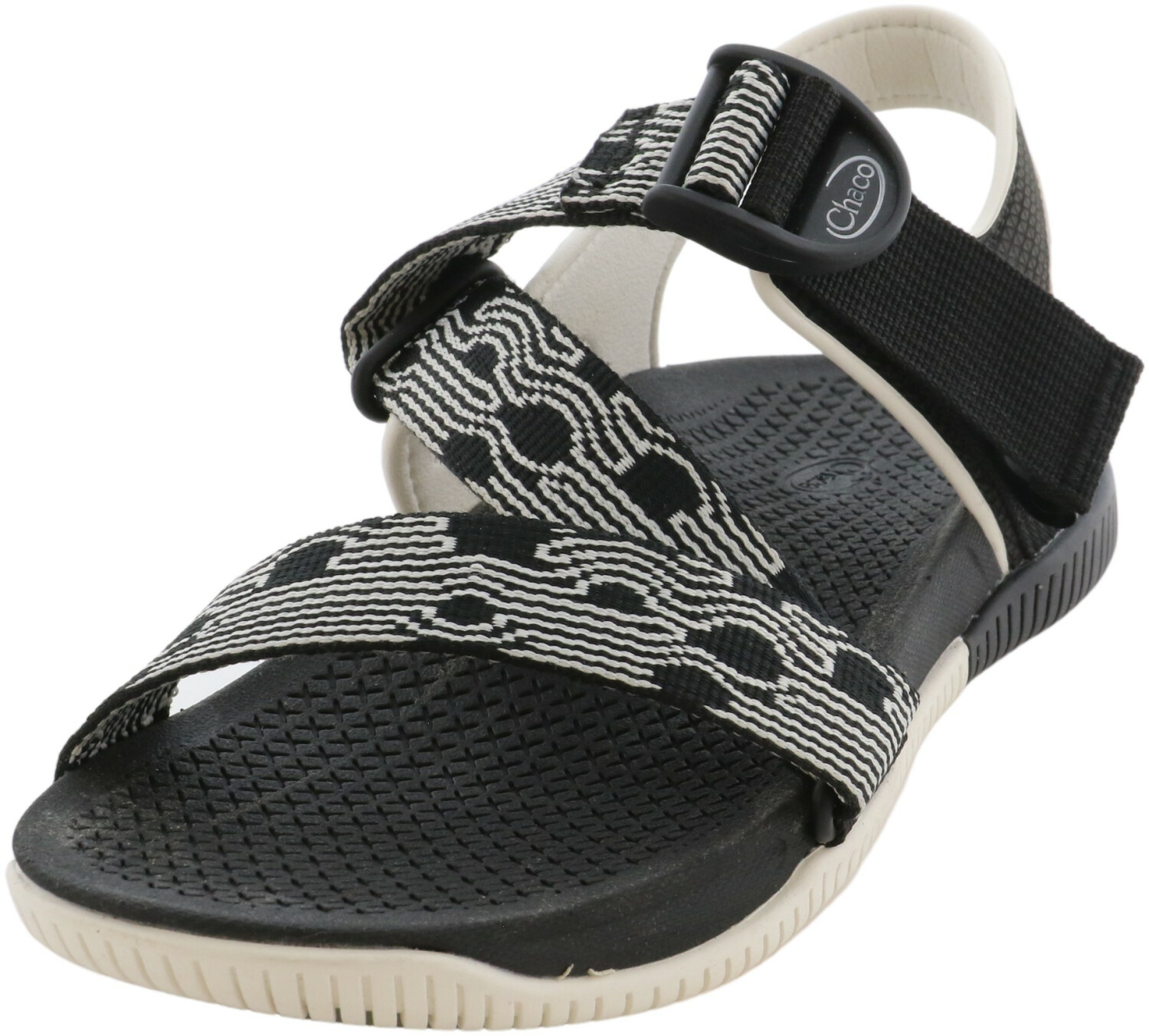 Chaco Women's Confluence Black Ankle-High Polyester Sport Sandals & Slide - 7M