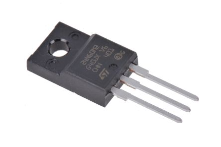 STMicroelectronics N-Channel MOSFET, 18 A, 650 V, 3-Pin TO-220FP  STF24N60M2 (5)