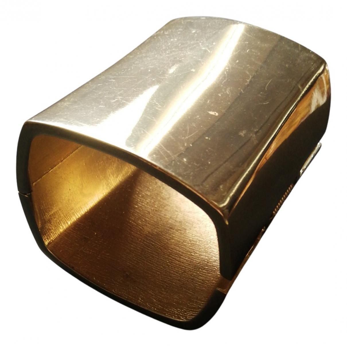 - Bracelet Manchette pour femme en acier - dore