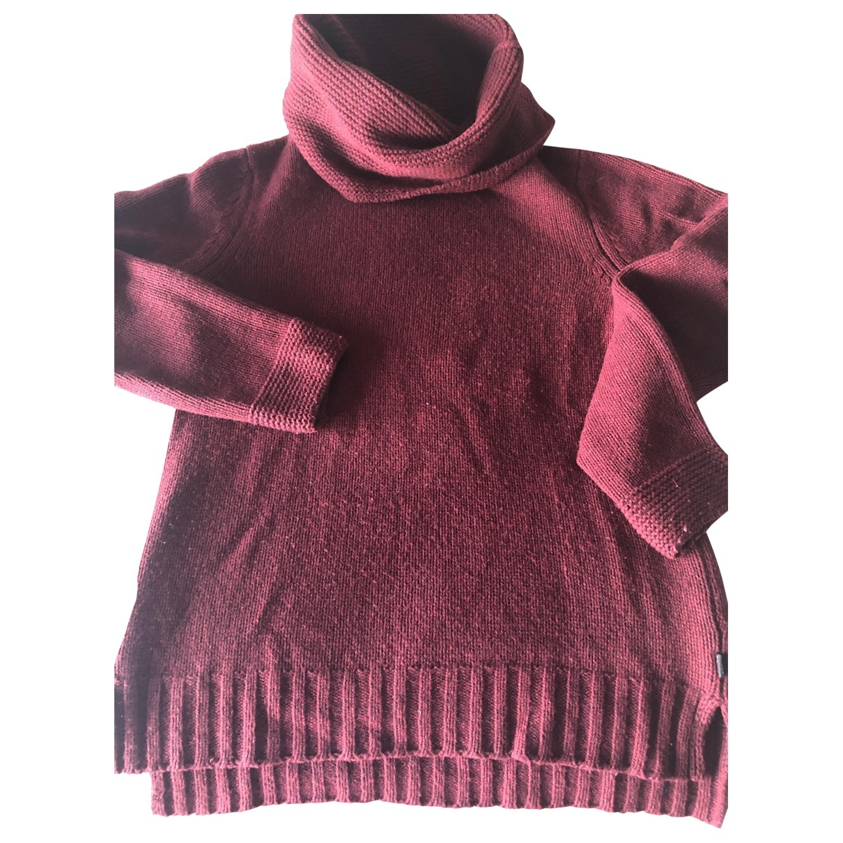 Aigle \N Pullover in  Rot Wolle