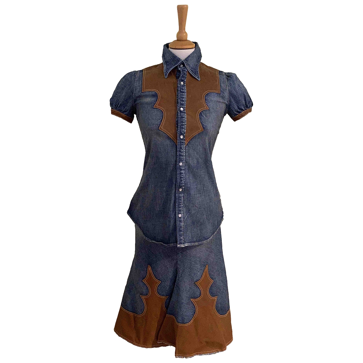 Dsquared2 \N Kleid in  Bunt Denim - Jeans
