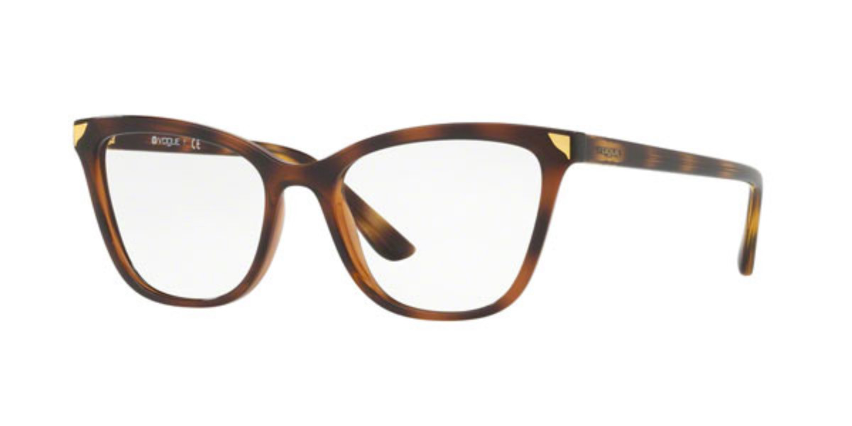 Vogue Eyewear VO5206 Metallic Beat 2386 Women's Glasses Tortoise Size 51 - Free Lenses - HSA/FSA Insurance - Blue Light Block Available