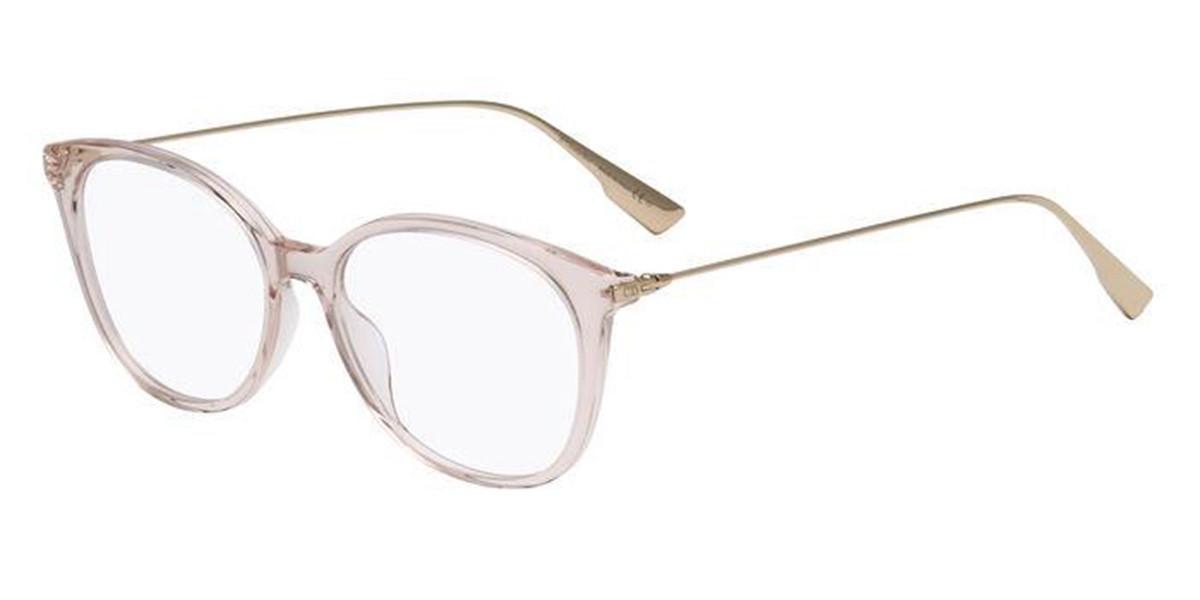 Dior DIORSIGHTO1 FWM Women's Glasses Brown Size 52 - Free Lenses - HSA/FSA Insurance - Blue Light Block Available