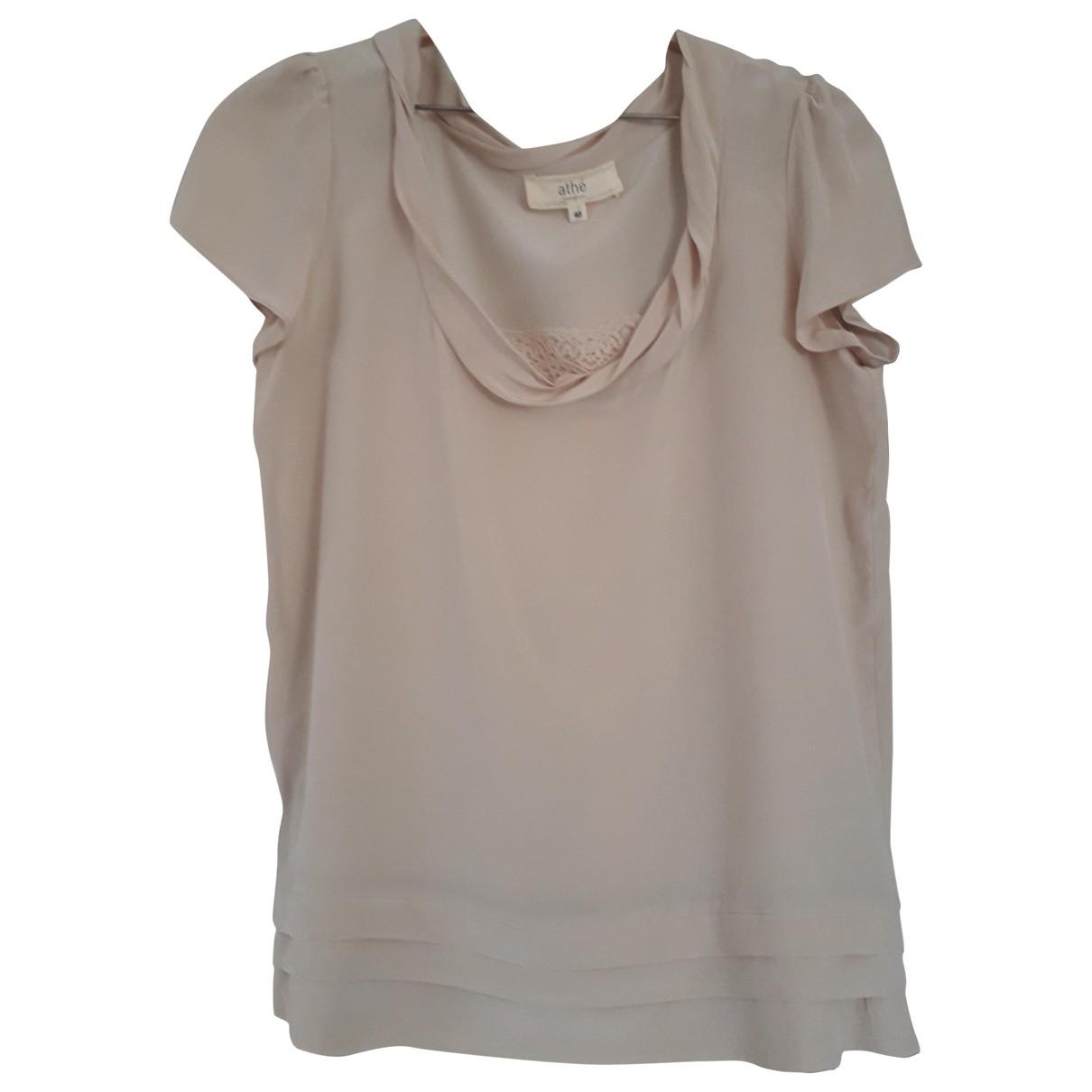 Vanessa Bruno Athe \N Beige Silk  top for Women 40 FR