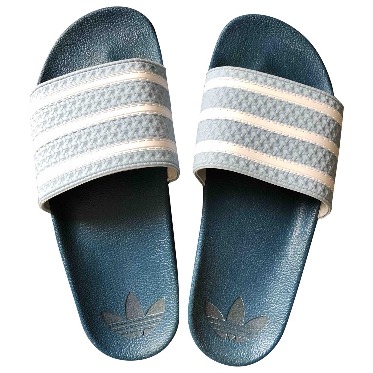 Adidas - Sandales   pour femme - bleu
