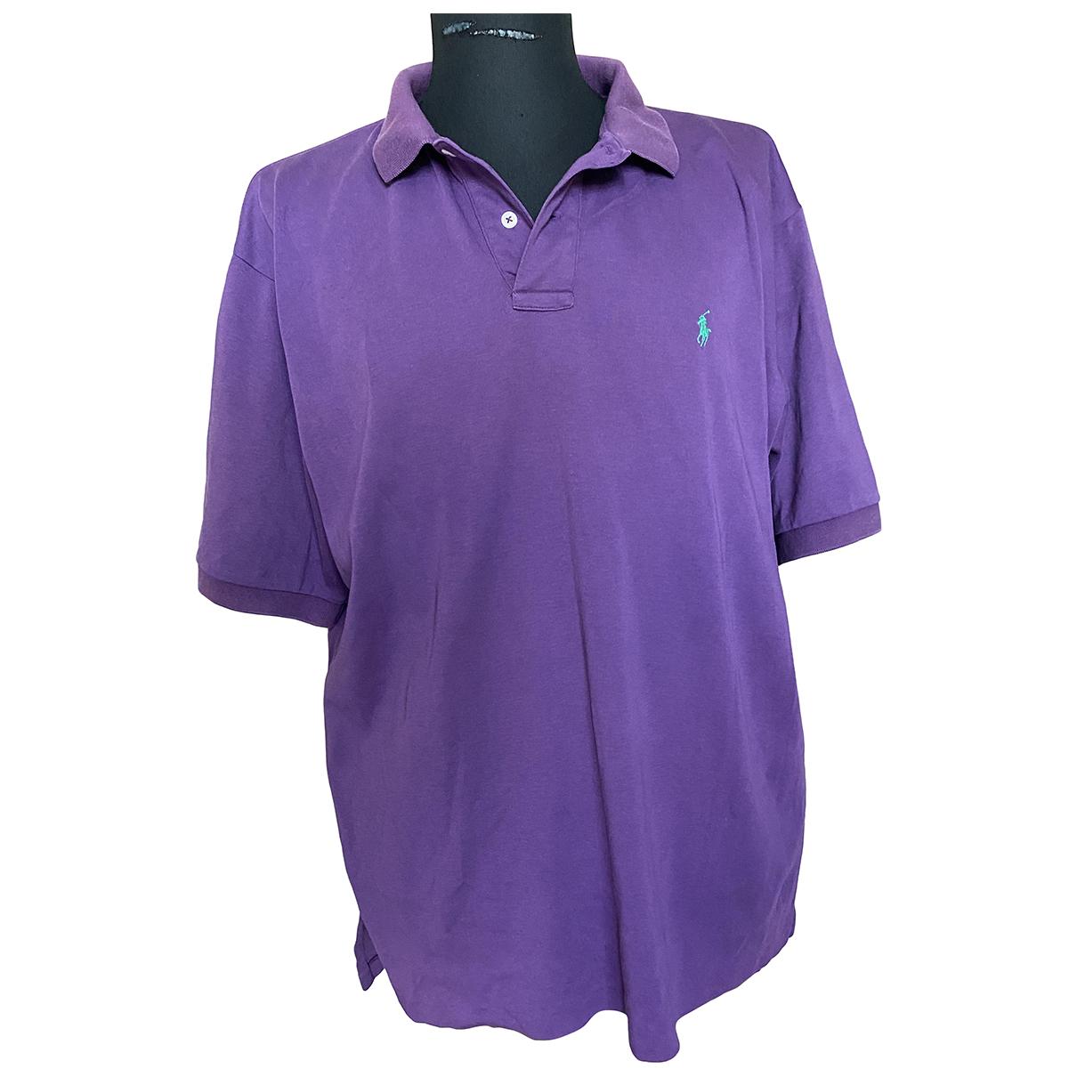 Polo Ralph Lauren \N Purple Cotton Polo shirts for Men XL International