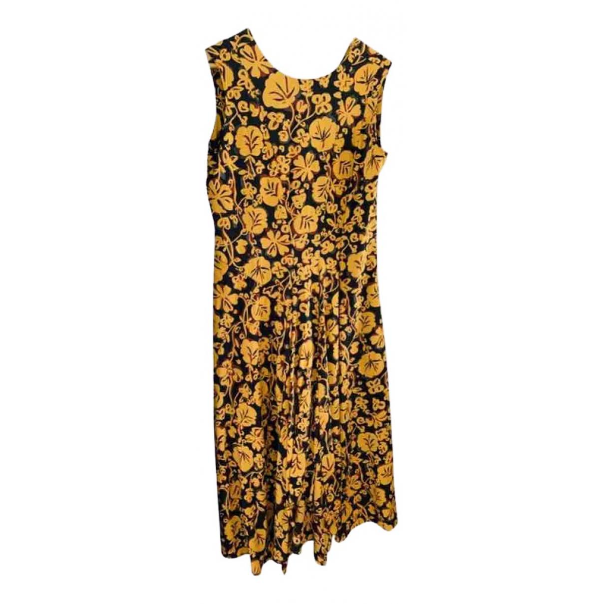 Maxi vestido de Seda Kenzo