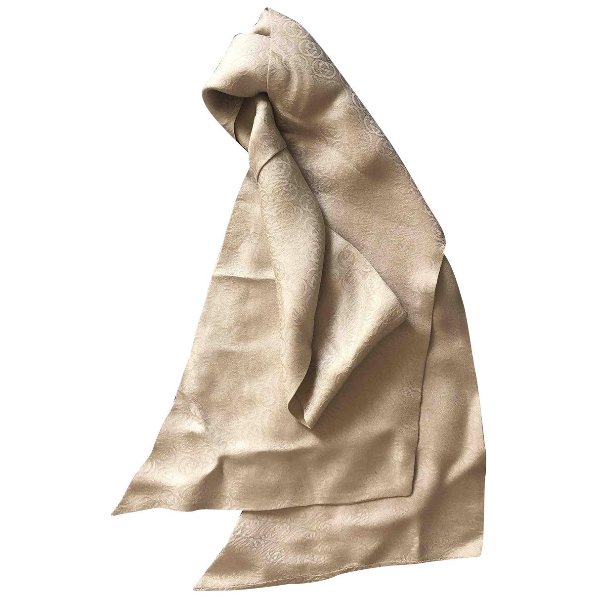 Gucci \N Beige Silk scarf for Women \N