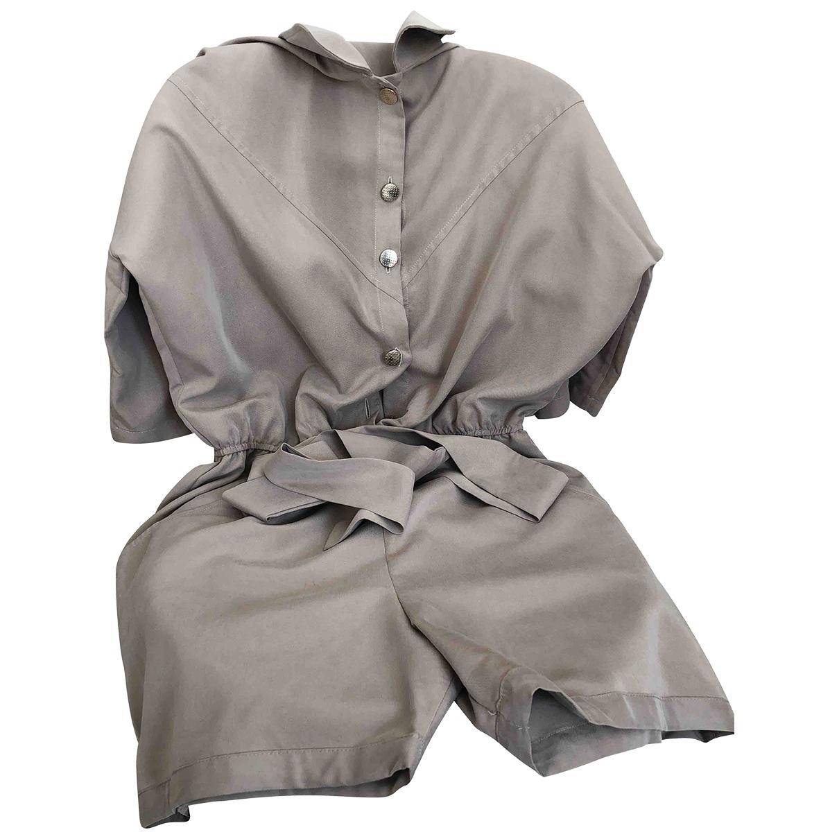 Carolina Ritz \N Beige Shorts for Women 38 FR