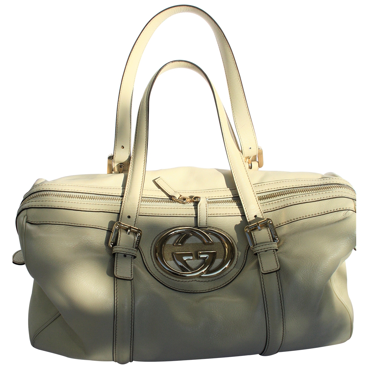 Gucci \N White Leather handbag for Women \N