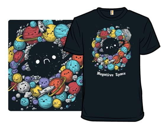 A Negative Space T Shirt