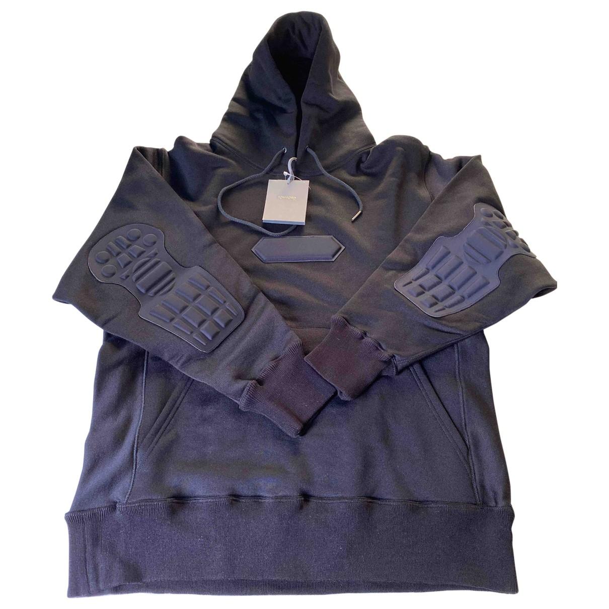 Tom Ford \N Pullover.Westen.Sweatshirts  in  Schwarz Baumwolle
