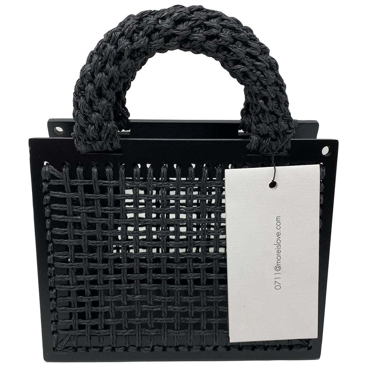 0711 \N Black Cloth handbag for Women \N