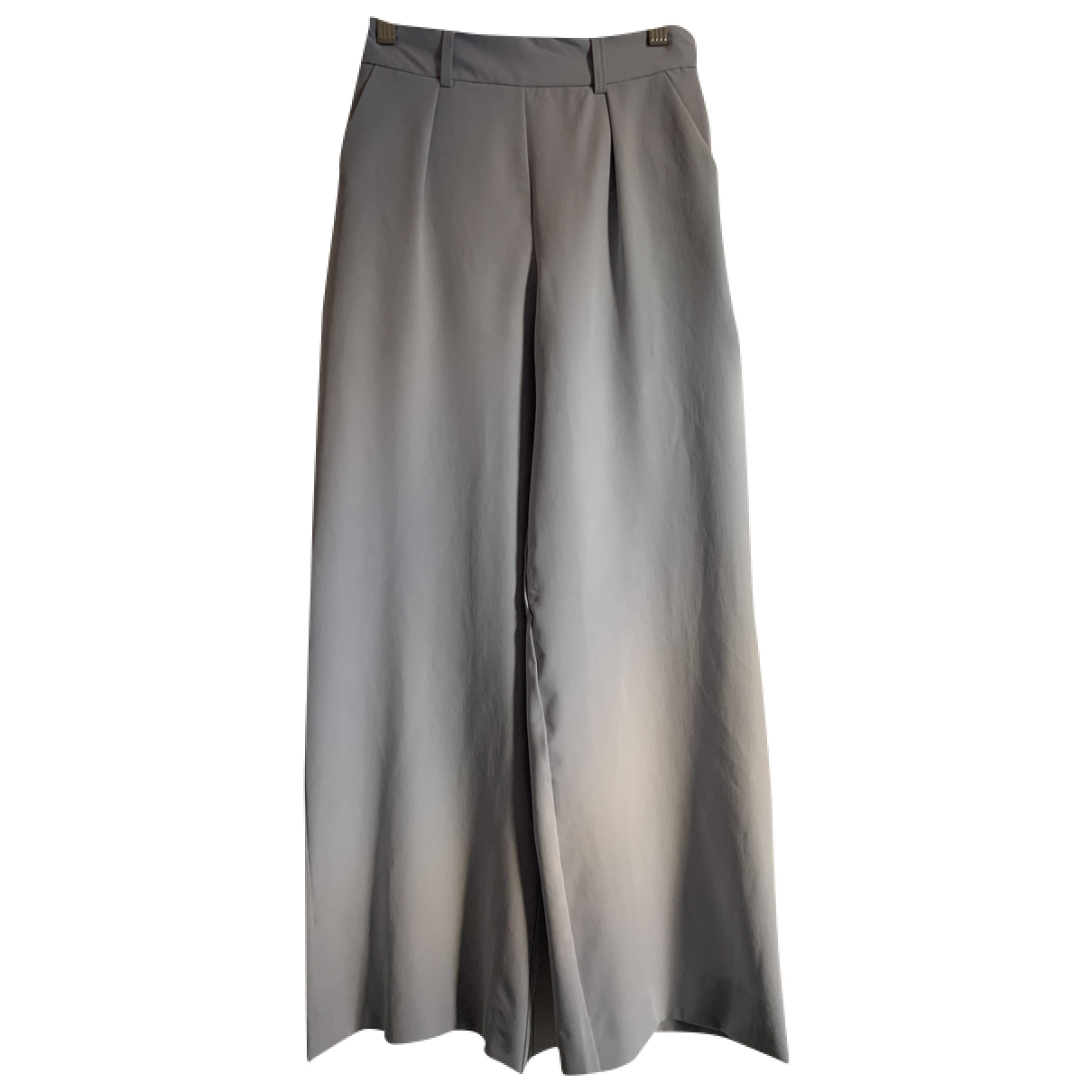 Asos N Blue Cotton Trousers for Women XS International