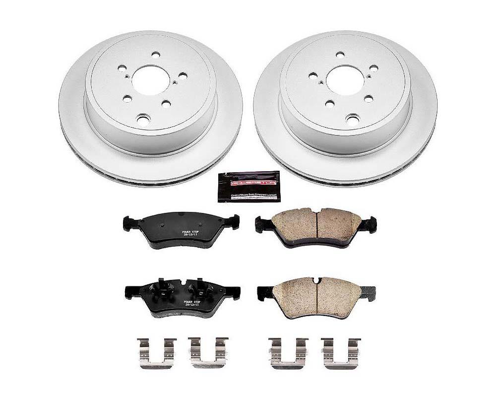 Power Stop CRK5883 Z17 Evolution Geomet Coated Brake Kit Rear Scion FR-S 2013-2016